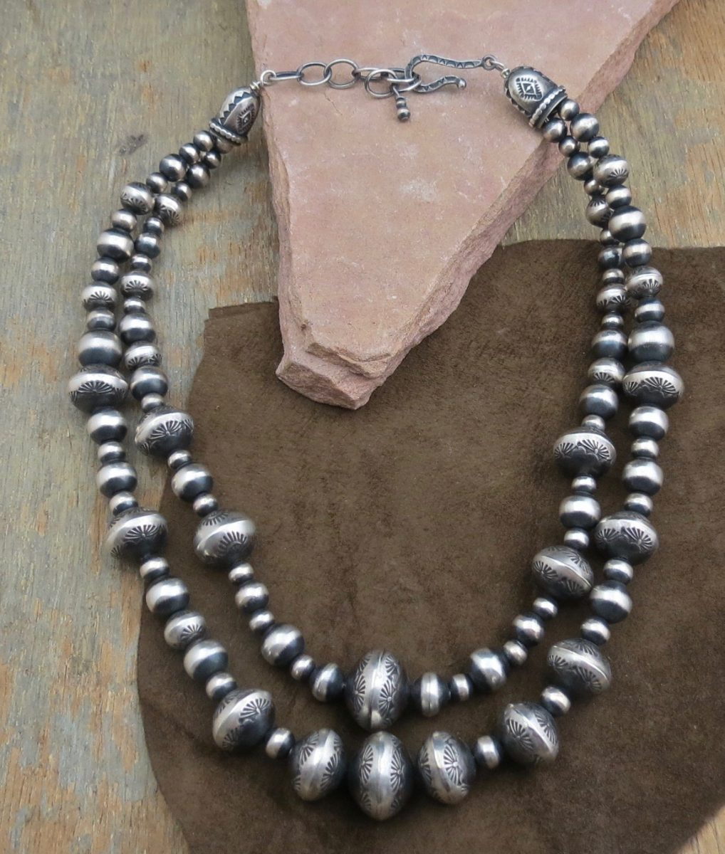 6ee02ba62667c BC 1114 AUTHENTIC STERLING SILVER BEAD NECKLACE