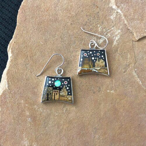 Fred Begay Pueblo earrings