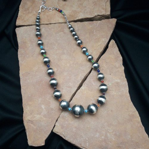 stone accented  Navajo Pearls