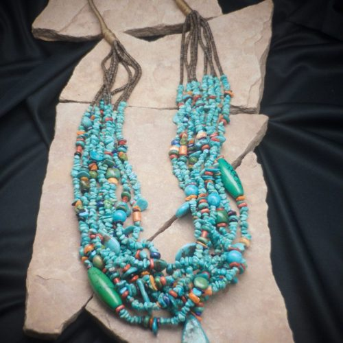 One of the most spectacular Santa Domingo necklaces
